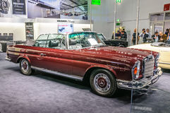 FRANKFURT - SEPT 2015: BRABUS Classic Mercedes Royalty Free Stock Photo