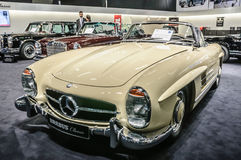 FRANKFURT - SEPT 2015: 1957 Brabus Classic Mercedes-Benz 300 SL Royalty Free Stock Photo