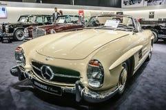 FRANKFURT - SEPT 2015: 1957 Brabus Classic Mercedes-Benz 300 SL Royalty Free Stock Photo