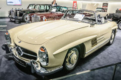FRANKFURT - SEPT 2015: 1957 Brabus Classic Mercedes-Benz 300 SL Royalty Free Stock Photos