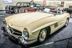 FRANKFURT - SEPT 2015: 1957 Brabus Classic Mercedes-Benz 300 SL Royalty Free Stock Photos