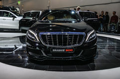 FRANKFURT - SEPT 2015: Brabus Mercedes-Maybach Rocket 900 presen Stock Image