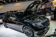 FRANKFURT - SEPT 2015: Brabus Mercedes-Maybach Rocket 900 presen Royalty Free Stock Photo