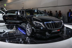 FRANKFURT - SEPT 2015: Brabus Mercedes-Maybach Rocket 900 presen Stock Photography