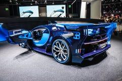 FRANKFURT - SEPT 2015: Bugatti Chiron Vision Gran Turismo presented at IAA International Motor Stock Image