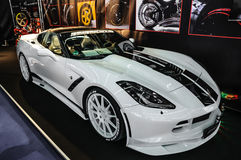 FRANKFURT - SEPT 2015: Chevrolet Corvette Stingray Convertible C stock photo