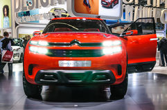 FRANKFURT - SEPT 2015: Citroen Aircross concept presented at IAA Royalty Free Stock Photo