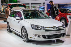 FRANKFURT - SEPT 2015: Citroen C5 Tourer presented at IAA Intern Stock Image