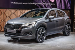 FRANKFURT - SEPT 2015: Citroen DS 4 Crossback concept presented Stock Photos