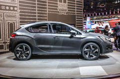 FRANKFURT - SEPT 2015: Citroen DS 4 Crossback concept presented Royalty Free Stock Images