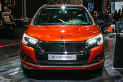 FRANKFURT - SEPT 2015: Citroen DS 4 Crossback presented at IAA I Royalty Free Stock Photography
