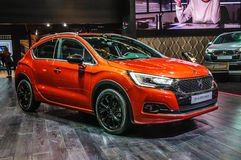 FRANKFURT - SEPT 2015: Citroen DS 4 Crossback presented at IAA I Stock Photo