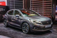 FRANKFURT - SEPT 2015: Citroen DS 4 presented at IAA Internation Royalty Free Stock Photography