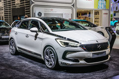 FRANKFURT - SEPT 2015: Citroen DS 5 presented at IAA Internation Royalty Free Stock Photos