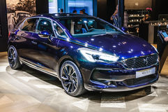 FRANKFURT - SEPT 2015: Citroen DS 5 presented at IAA Internation Stock Photos