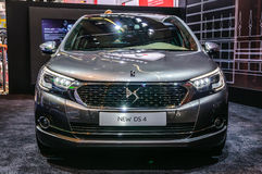 FRANKFURT - SEPT 2015: Citroen DS 4 som framläggas på IAA-internationalen Royaltyfria Bilder