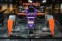 FRANKFURT - SEPT 2015: Citroen Formula E presented at IAA Intern Royalty Free Stock Photo