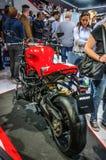 FRANKFURT - SEPT 2015: Ducati Streetfighter 848 presented at IAA Royalty Free Stock Photography