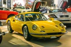 FRANKFURT - SEPT 2015: 1971 Ferrari Dino 246 presented at IAA Stock Photography