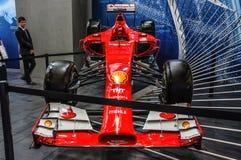 FRANKFURT - SEPT 2015: Ferrari formel en F1 som framläggas på IAA I Royaltyfri Bild