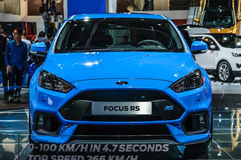 FRANKFURT - SEPT 2015: Ford Focus RS presented at IAA Internatio Royalty Free Stock Image