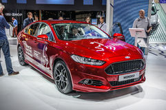 FRANKFURT - SEPT 2015: Ford Mondeo presented at IAA Internationa Stock Image