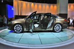 FRANKFURT - SEPT 14: Ford Mondeo Vignale presented as world prem Stock Photos