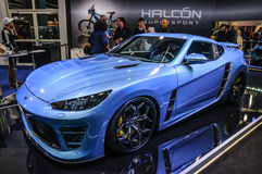 FRANKFURT - SEPT 2015: Halcon SuperSport Falcarto presented at I Royalty Free Stock Photos