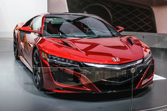 FRANKFURT - SEPT 2015: Honda NSX concept presented at IAA Intern Stock Photography
