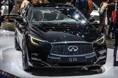 FRANKFURT - SEPT 2015: Infinity Q30 presented at IAA Internation Stock Photography