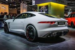FRANKFURT - SEPT. 2015: Jaguar-F-Type Startech bij IAA I wordt voorgesteld die Royalty-vrije Stock Foto's