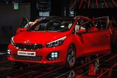 FRANKFURT - SEPT 2015: Kia ceed sw GT presented at IAA Internati Royalty Free Stock Images
