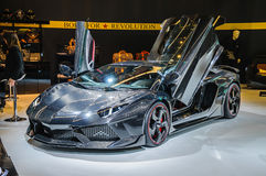 FRANKFURT - SEPT 21: Lamborghini Aventador Carbonado by Mansory Royalty Free Stock Photo
