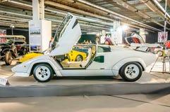 FRANKFURT - SEPT 2015: Lamborghini Countach LP400 1974 presented Stock Photos