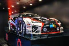 FRANKFURT - SEPT 2015: Lexus LFA WRC WTCC presented at IAA Inter Royalty Free Stock Photos