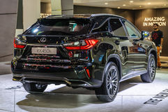 FRANKFURT - SEPT 2015: Lexus RX450h presented at IAA Internation Royalty Free Stock Images