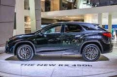 FRANKFURT - SEPT 2015: Lexus RX450h presented at IAA Internation Stock Photos