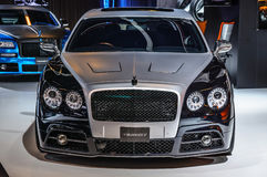 FRANKFURT - SEPT 2015: Mansory Bentley Continental GTC presented stock photo