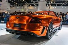 FRANKFURT - SEPT 2015: Mansory Bentley Continental GTC presented Stock Photography