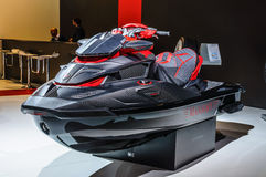 FRANKFURT - SEPT 2015: Mansory Black Marlin Jet Ski  presented a Royalty Free Stock Image