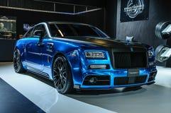 FRANKFURT - SEPT 2015: MANSORY BLEURION Rolls-Royce Wraith prese Stock Photography