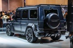 FRANKFURT - SEPT 2015: MANSORY GRONOS Mercedes-Benz AMG G-CLASS Obrazy Royalty Free