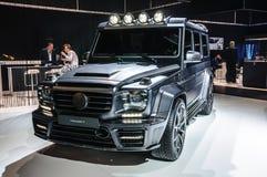 FRANKFURT - SEPT 2015: MANSORY GRONOS Mercedes-Benz AMG G-CLASS Zdjęcia Stock