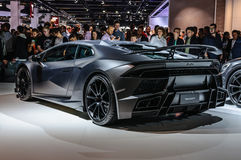 FRANKFURT - SEPT. 2015: MANSORY TOROFEO Lamborghini Huracan Stock Afbeeldingen