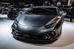 FRANKFURT - SEPT. 2015: MANSORY TOROFEO Lamborghini prese Huracan Stock Fotografie