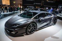 FRANKFURT - SEPT. 2015: MANSORY TOROFEO Lamborghini prese Huracan Stock Foto's