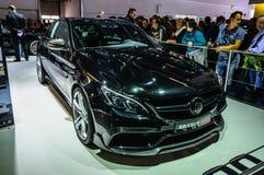 FRANKFURT - SEPT. 2015: Mercedes-AMG GT Brabus 600 bij I wordt voorgesteld die Stock Foto