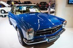 FRANKFURT - SEPT 21: Mercedes Benz SL Pagode Brabus Classic pres Stock Image