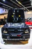 FRANKFURT - SEPT 2015: Mercedes G class Brabus 850 Widestar pres Stock Image