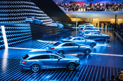 FRANKFURT - SEPT 21: MERECEDES-BENZ  presented as world premiere Royalty Free Stock Photography